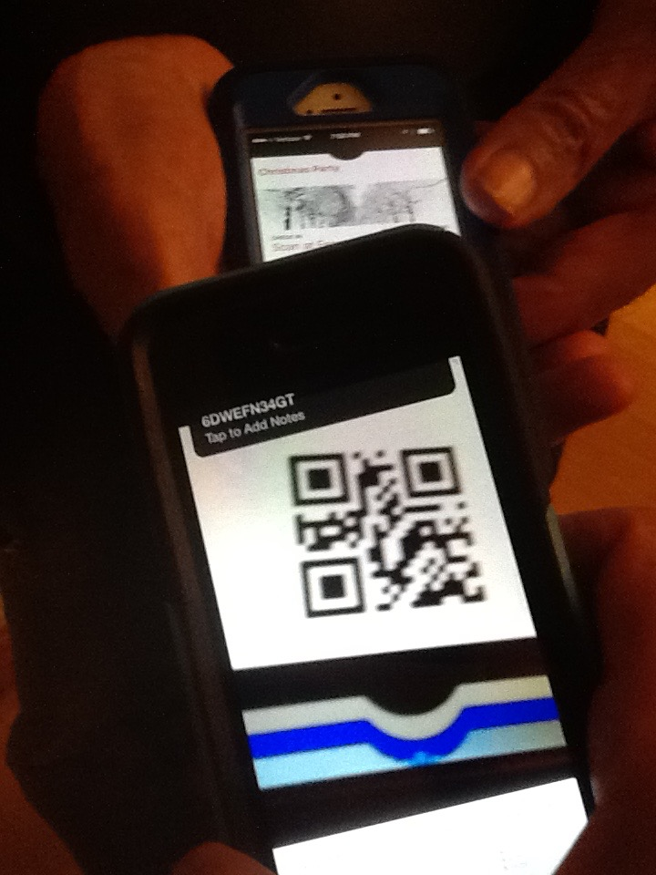 Scan your attendee's bar code